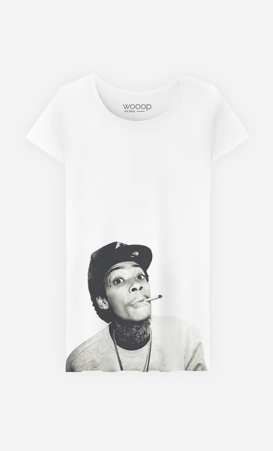 T-Shirt Femme Wiz Khalifa 2