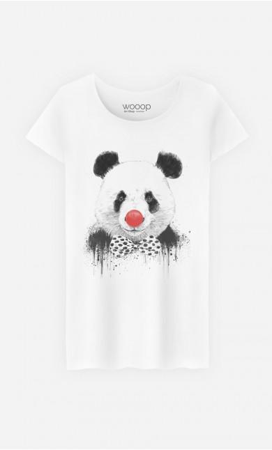 T-Shirt Femme Clown Panda
