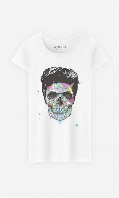 T-Shirt Femme Color Your Death