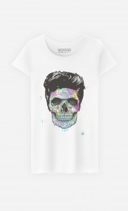 T-Shirt Femme Color Your Death