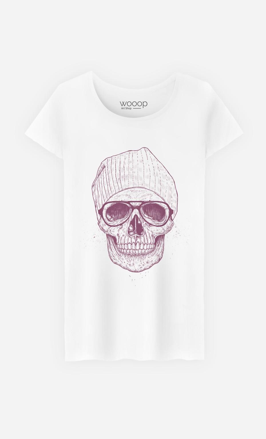 T-Shirt Femme Cool Skull