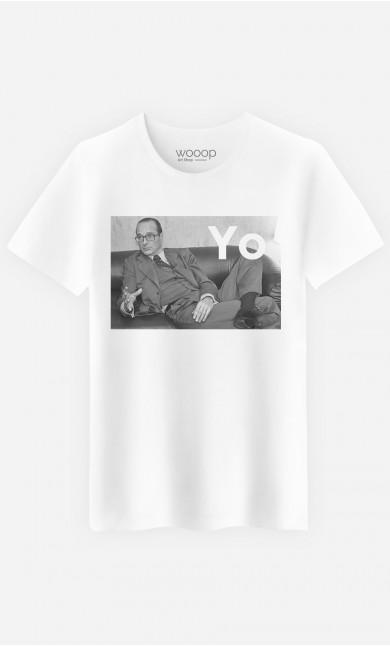 T-Shirt Homme Original Chirac Yo