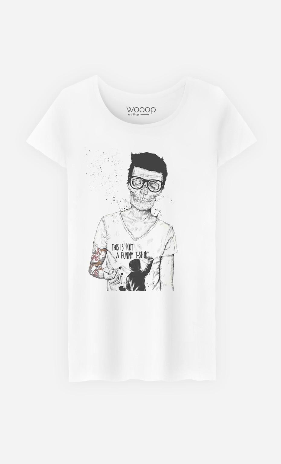T-Shirt Femme Hipster Is Not Dead