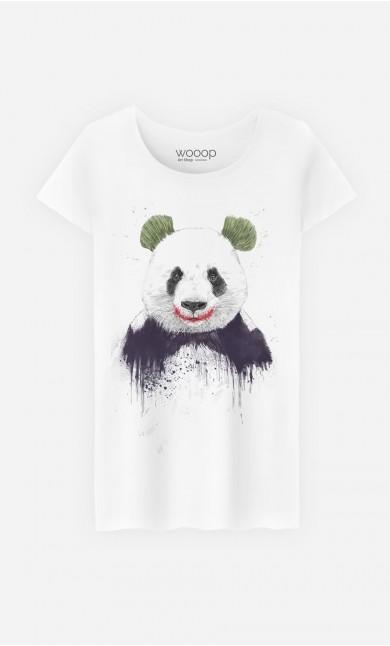 T-Shirt Femme Joker Panda