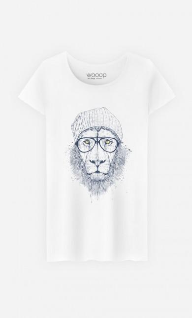 "T-Shirt Original ""Cool Lion"""