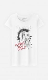 T-Shirt Femme Punk's Not Dead