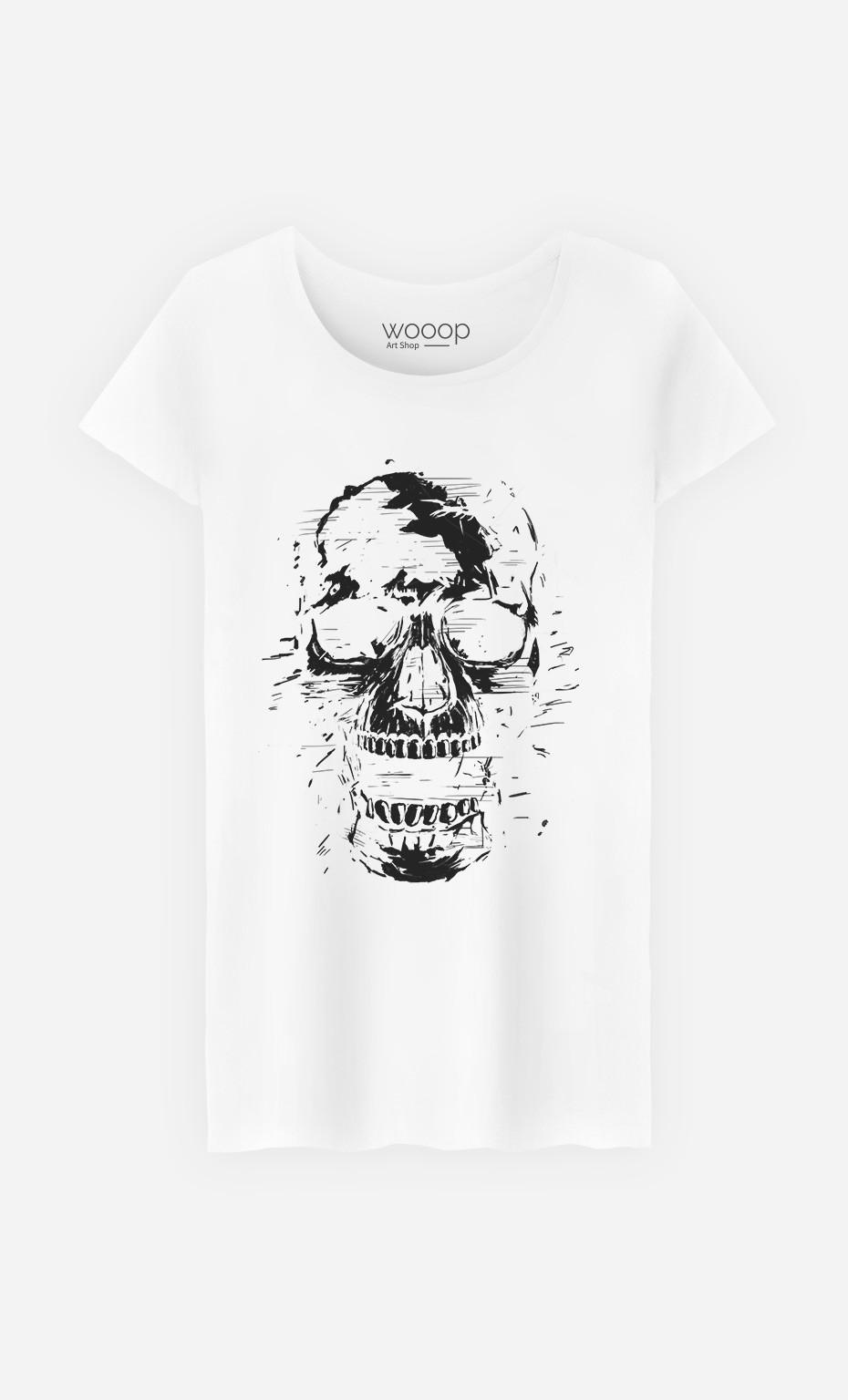 T-Shirt Femme Scream