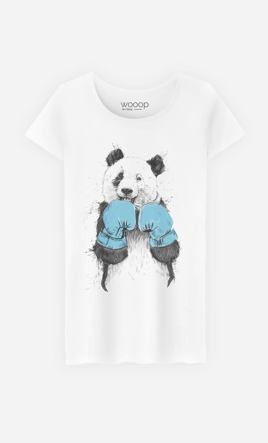 T-Shirt Femme The Winner Panda