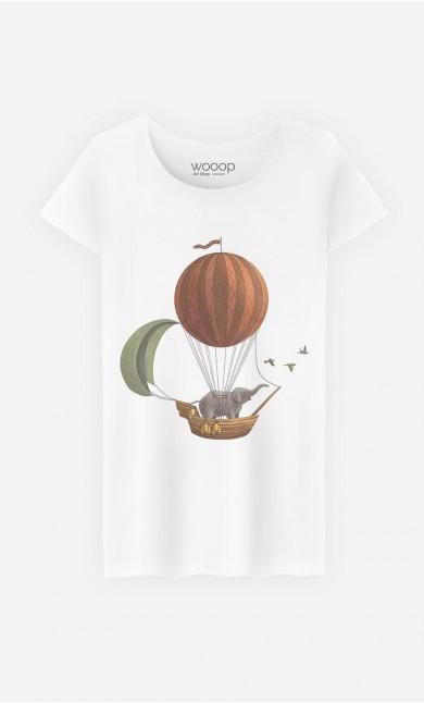 T-Shirt Femme Adventure Awaits