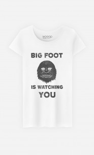 T-Shirt Femme Big Foot