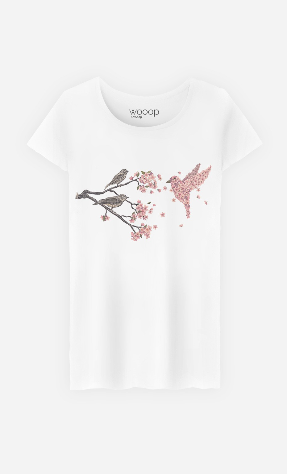 T-Shirt Femme Blossom Bird
