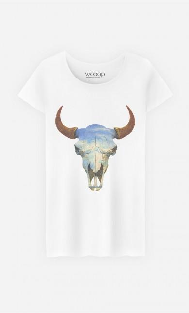 T-Shirt Femme Big Sky