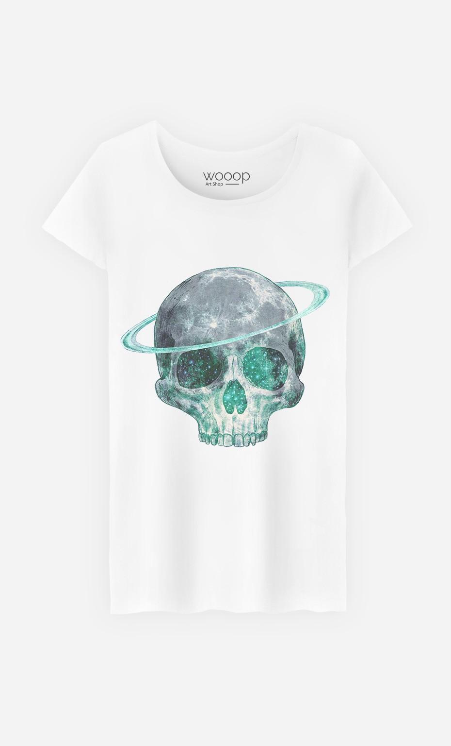 T-Shirt Femme Cosmic Skull