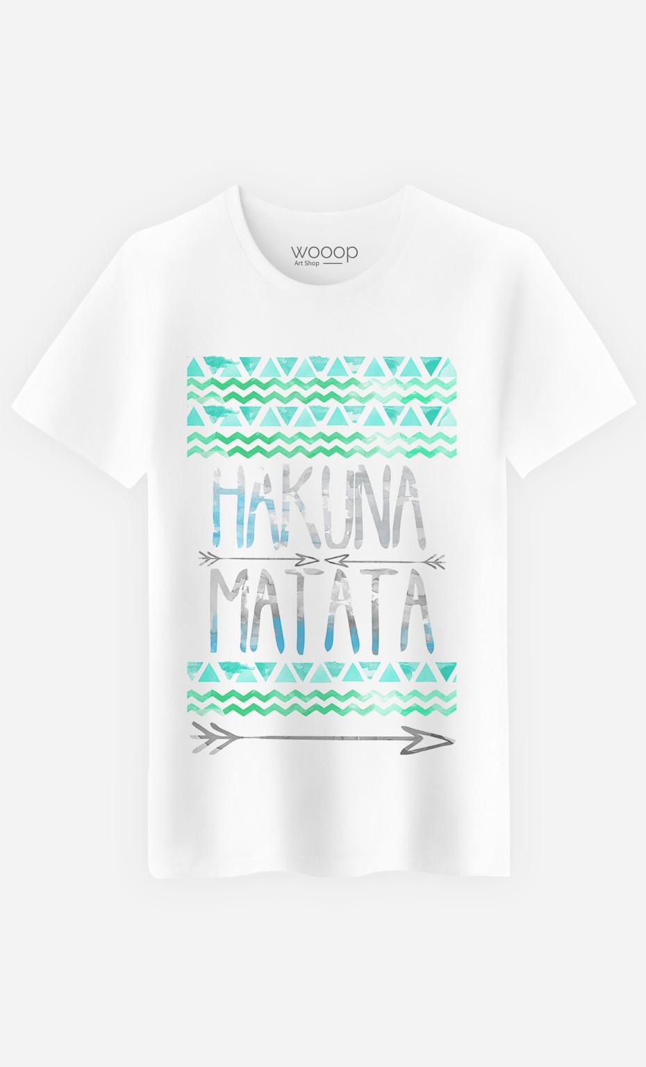 T-Shirt Homme Fun Hakuna Matata