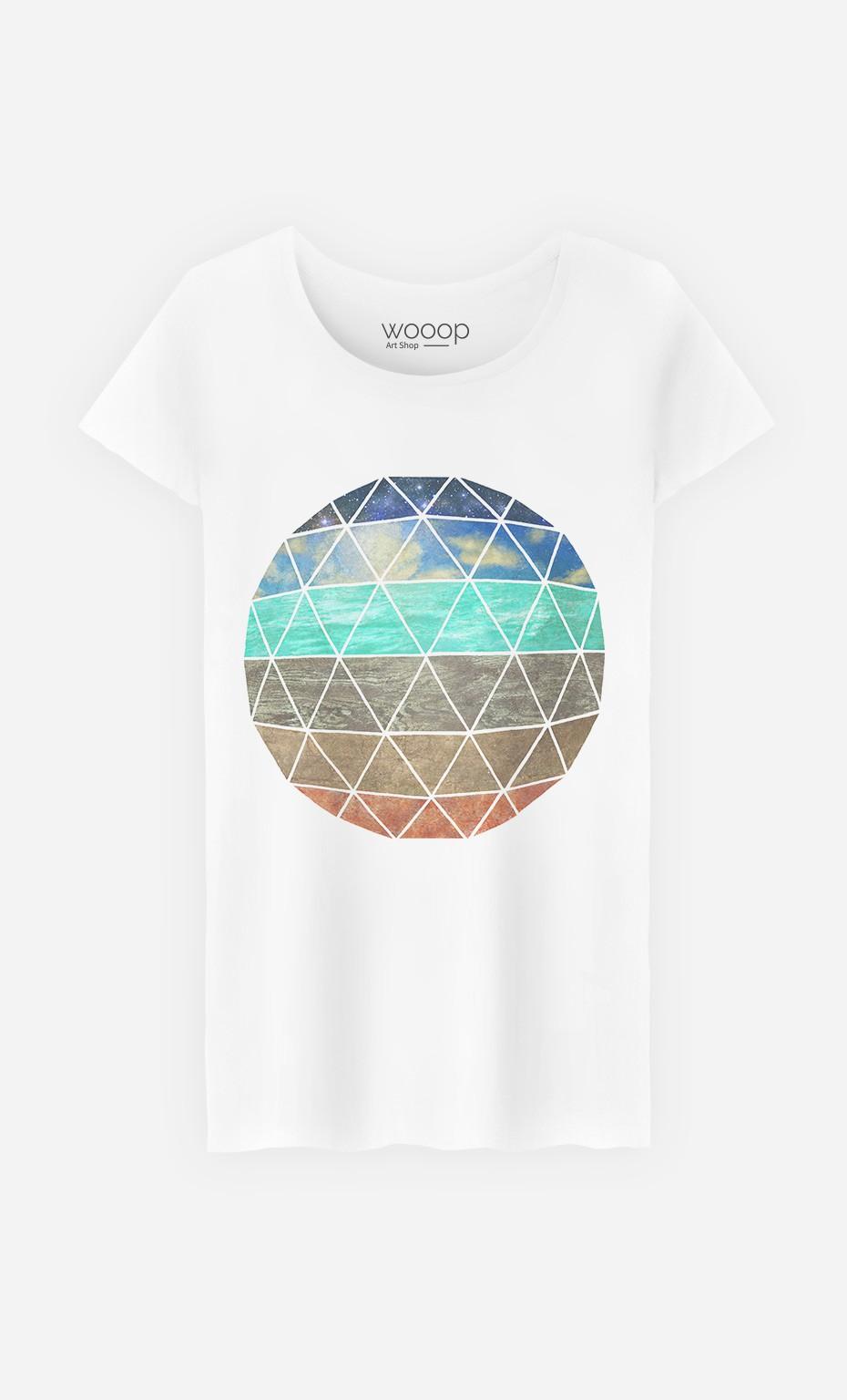 T-Shirt Femme Elemental Geodesic