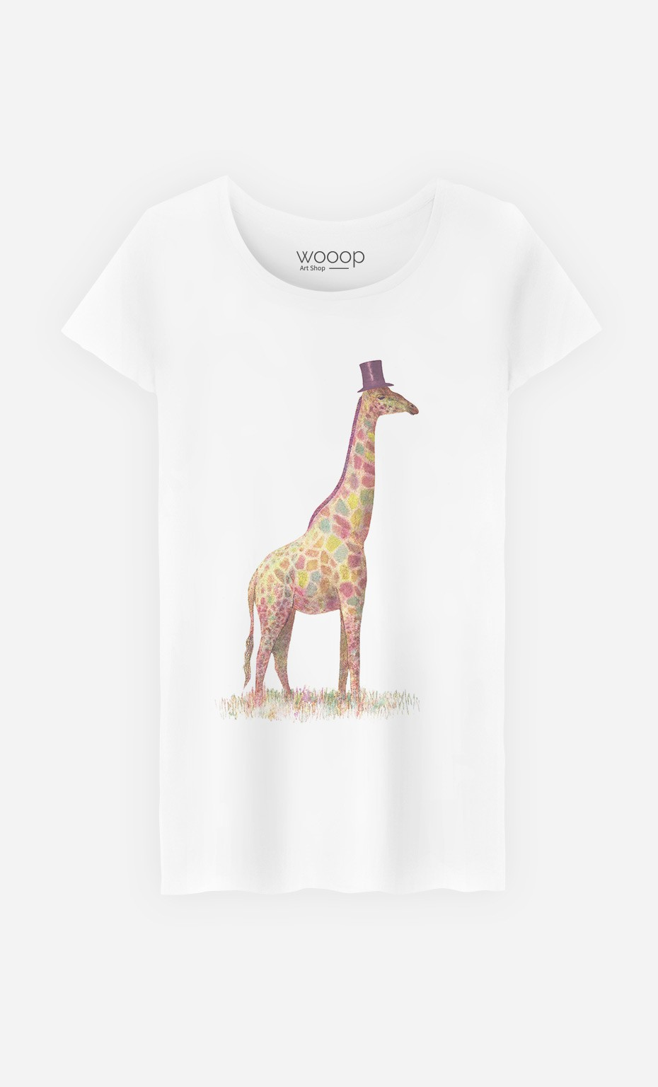 T-Shirt Fashionable Giraffe