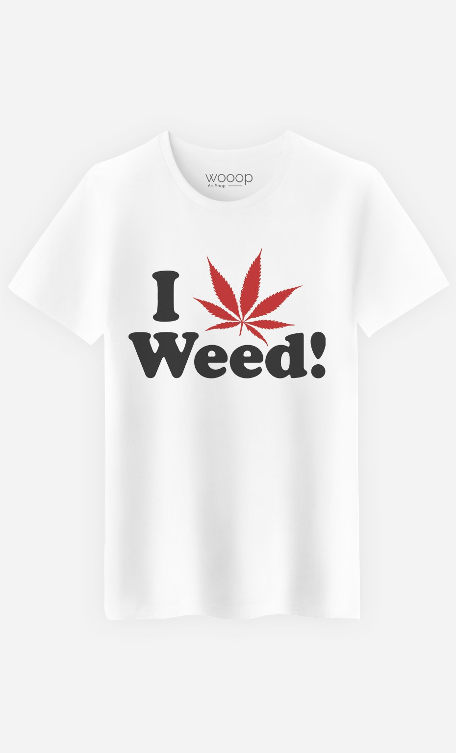 T-Shirt Homme Love Weed