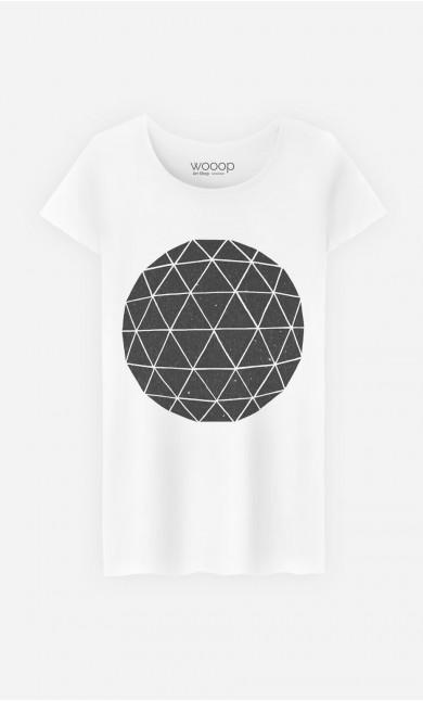 T-Shirt Femme Geodesic