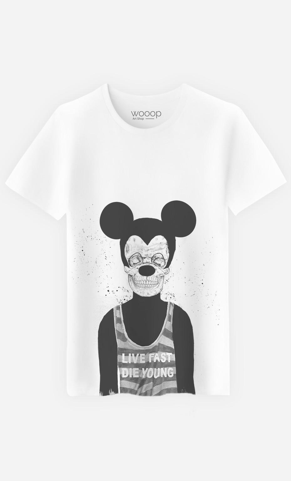 T-Shirt Homme Dead Mouse