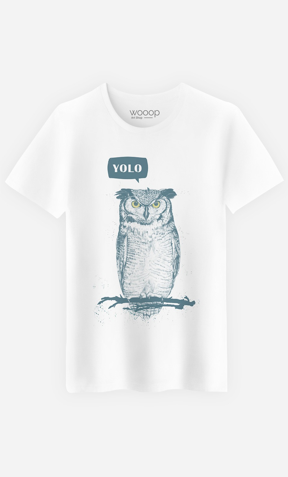 T-Shirt Homme Yolo Owl