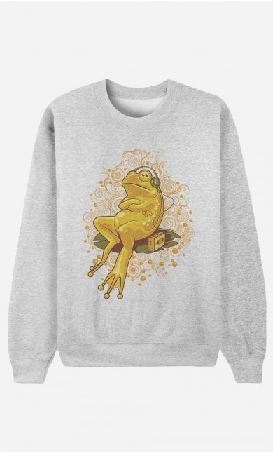 Sweat Homme Froggie Relax Mode