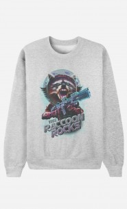 Sweat Homme Racoon Rocks