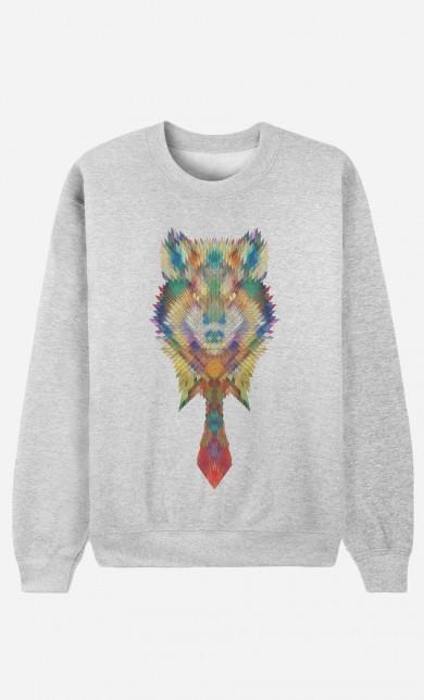 Sweater Diamond Wolf