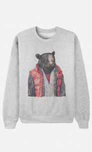 Sweat Homme Black Bear