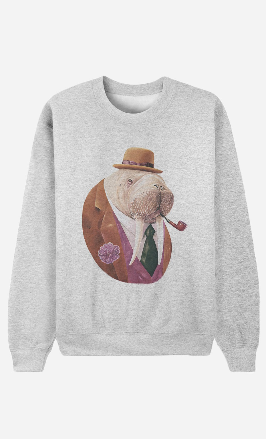 Sweat Homme Monsieur Walrus