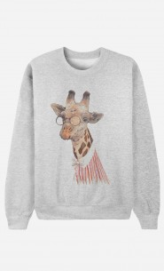 Sweat Homme Madame Giraffe
