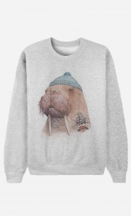 Sweat Homme Tattooed Walrus
