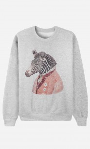 Sweat Homme Zebra Cream