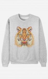 Sweat Homme Geo Tiger