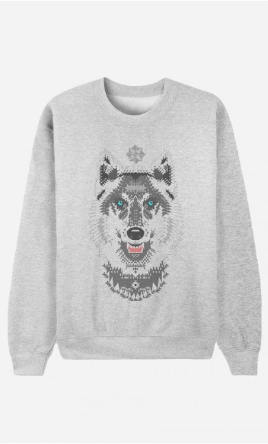 Sweat Homme Silver Wolf