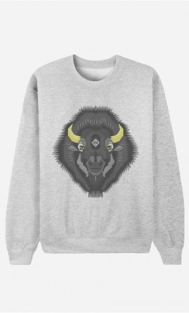 Sweat Homme The Bison