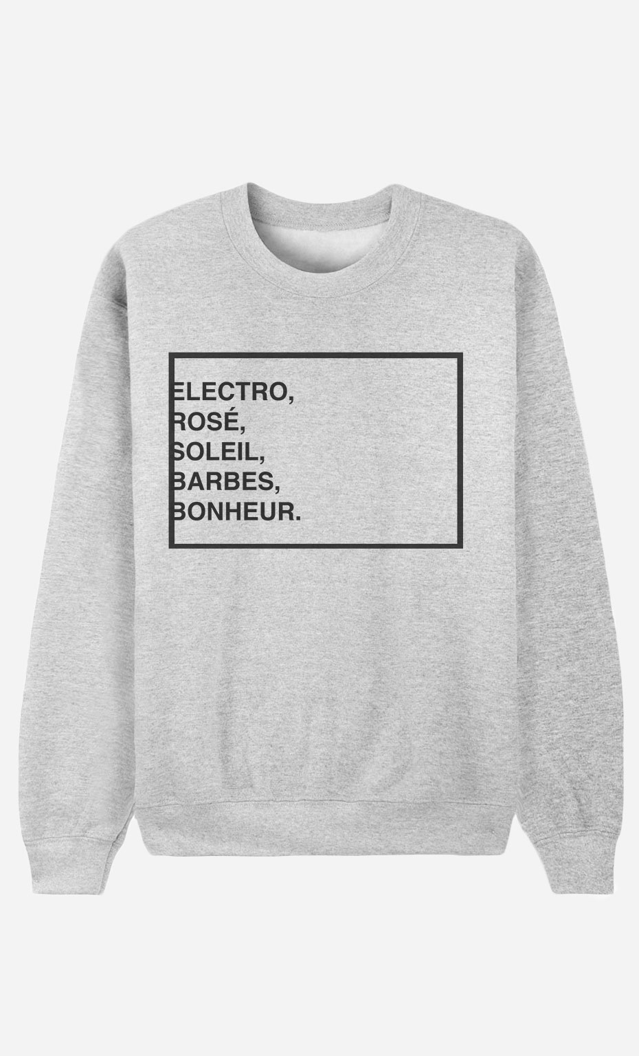 Sweat Homme Electro Rosé