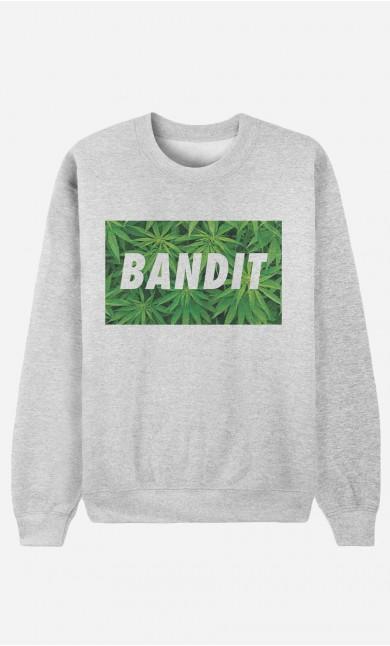 Sweat Homme Bandit Weed