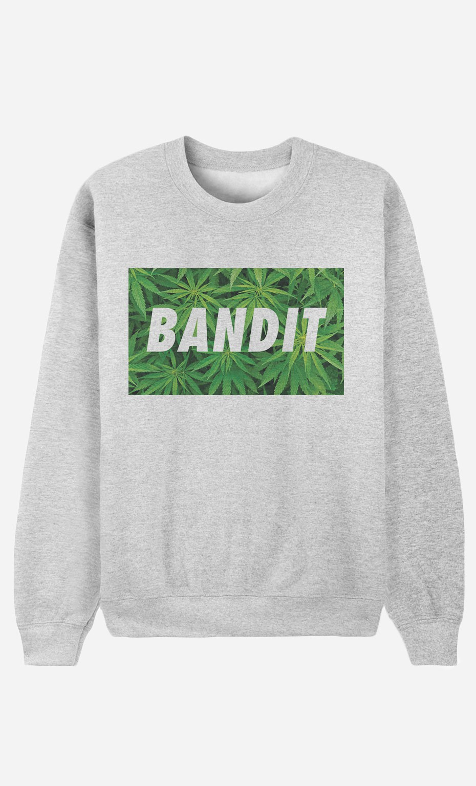 Sweat Homme Bandit Weed