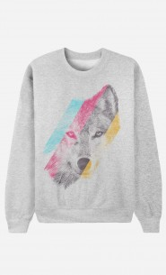 Sweat Homme Wild Wolf