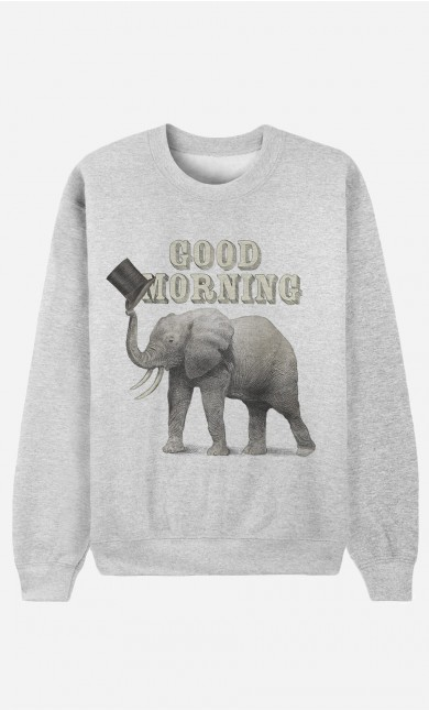 Sweat Homme Good Morning