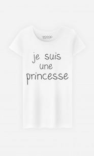 T-Shirt Femme Je Suis Une Princesse