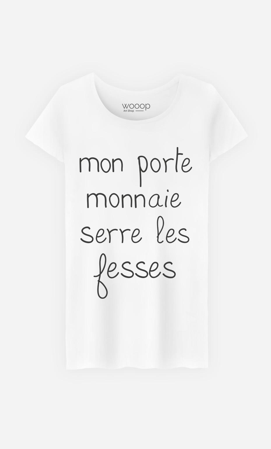 T-Shirt Femme Mon Porte Monnaie