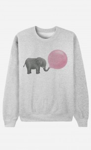 Sweat Homme Tendance Jumbo Bubble Gum