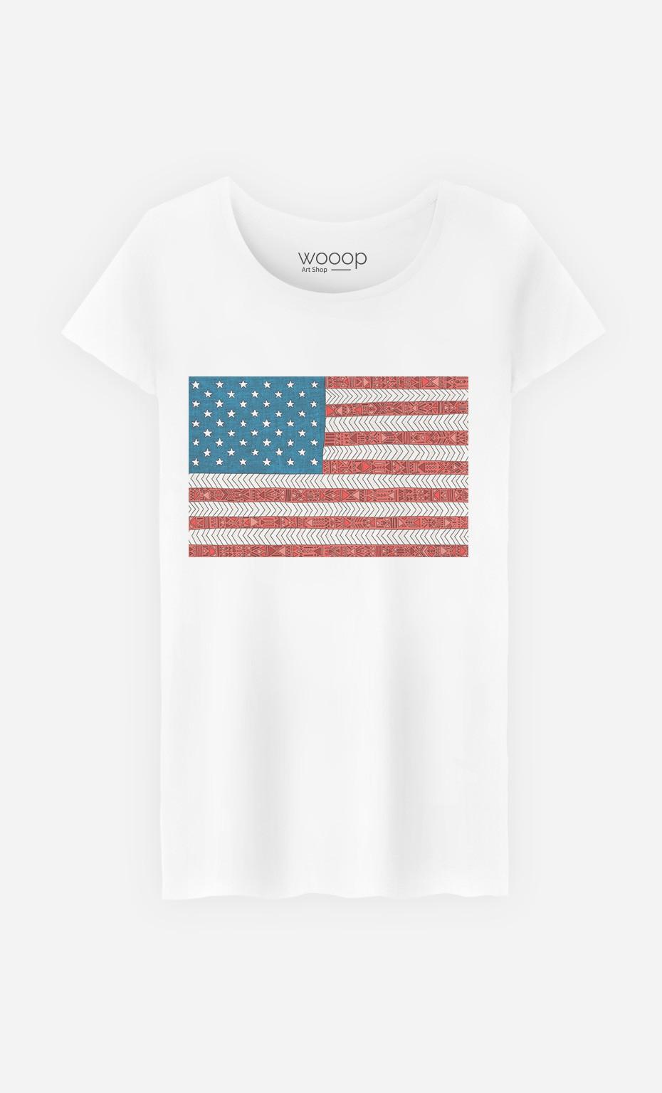 T-Shirt Femme USA