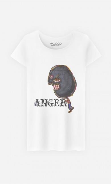 T-Shirt Femme Anger