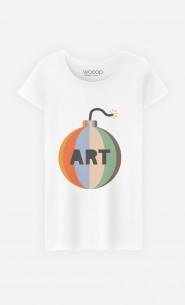 T-Shirt Femme Art Bomb