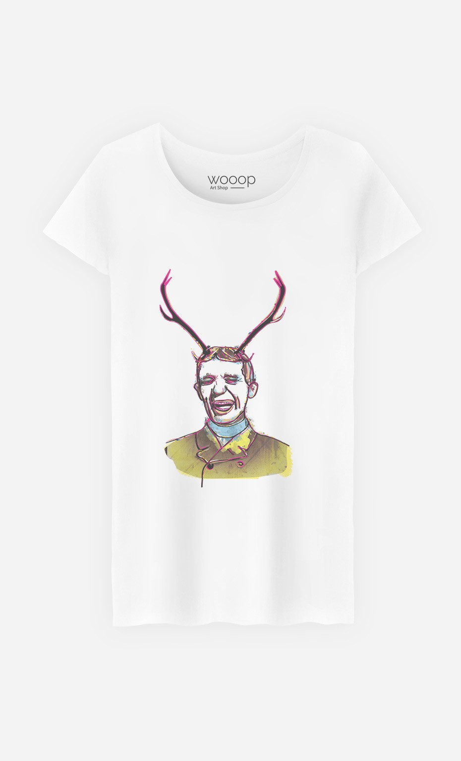 T-Shirt Deer Man