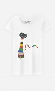 T-Shirt Femme Gustavo Cat