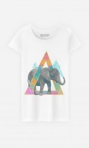 T-Shirt Femme Elephant