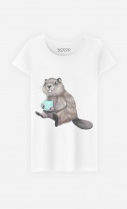 T-Shirt Femme Beaver